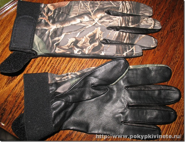 Cabela's Camoskinz™ Uninsulated Shooting Gloves2