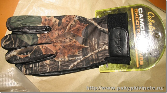 Cabela's Camoskinz™ Uninsulated Shooting Gloves