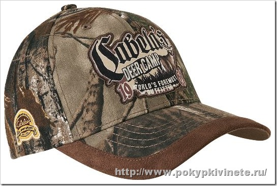 Cabela's 50th Anniversary Deer Camp Cap бейсболка