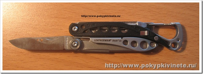 Leatherman Style CS лезвие ножа