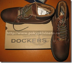 dockers boots MEN'S ALDER LEATHER MID LACE BOOTS Доккерс ботинки