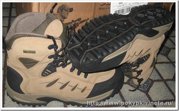 Cabela's Snow Runner ботинки подошва