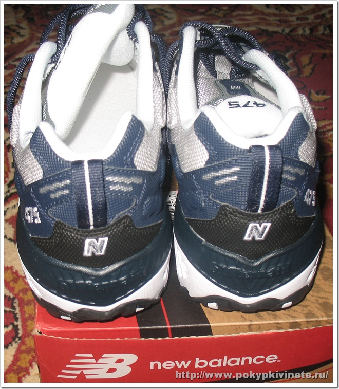 New Balance® 475 running shoe белые сзади